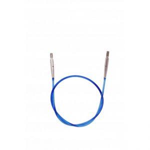 KnitPro Verwisselbare kabel - 50cm blauw -0