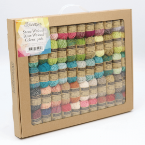 Scheepjes Stone Washed-River Washed colour pack - 58X10G -0