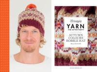 YARN The After Party 36 - Autumn Bobble Hat -0