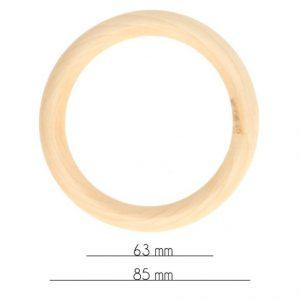 Houten bijtring - 85mm-0