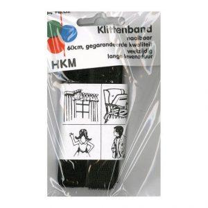 Opry klittenband 60cm zwart-0