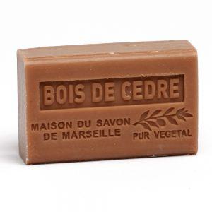 Savon de Marseille Bois de Cedre (Cederhout) - 125gr.-0