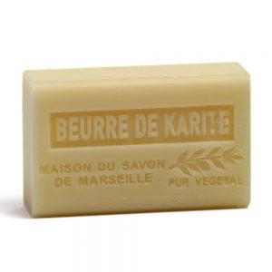 Savon de Marseille Beurre de karite (Kariteboter) - 125gr.-0